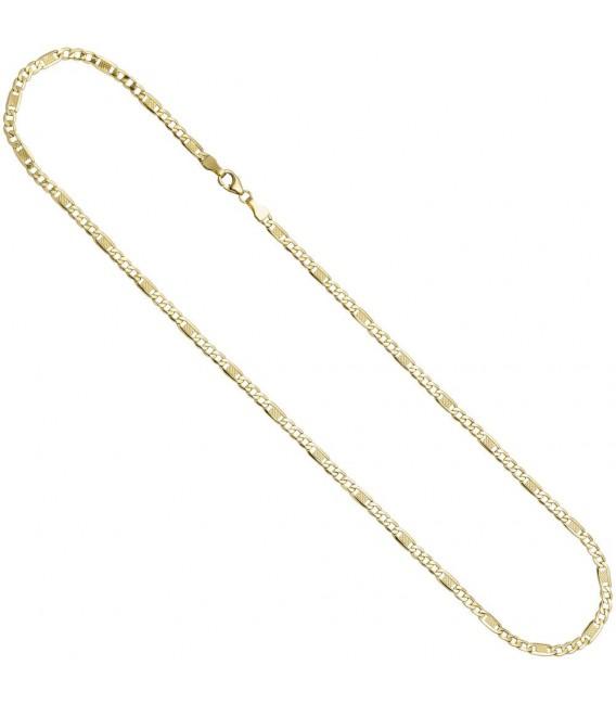 Halskette Kette 333 Gold Gelbgold 45 cm Goldkette Karabiner.