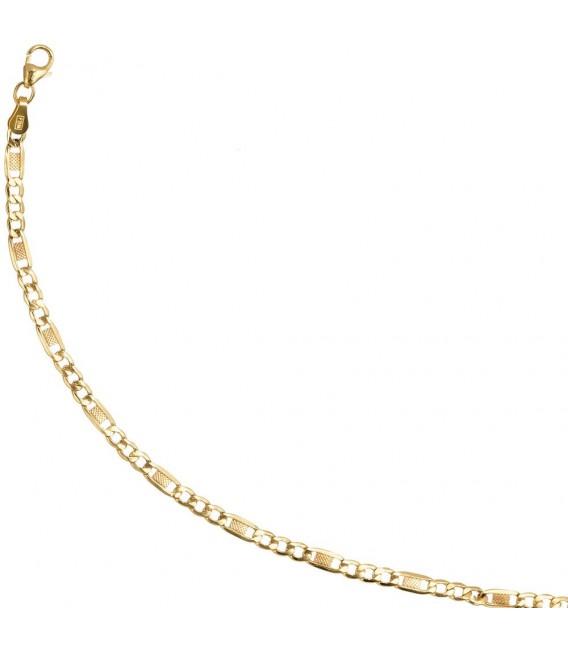 Armband 333 Gold Gelbgold 19 cm Goldarmband Karabiner.