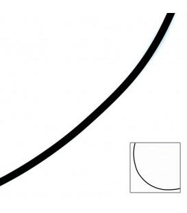 Halskette Kautschuk schwarz mit - 4053258064054
