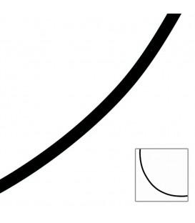 Halskette Kautschuk schwarz mit - 4053258064061