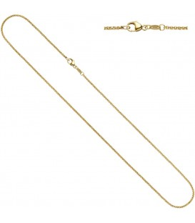 Erbskette 333 Gelbgold 15 - 4053258064818 Produktbild