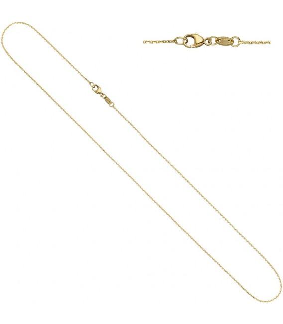 Ankerkette 585 Gelbgold diamantiert - 4053258229613