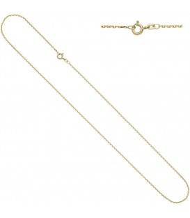 Ankerkette 333 Gelbgold diamantiert - 4053258229729