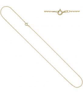 Ankerkette 585 Gelbgold diamantiert - 4053258229774
