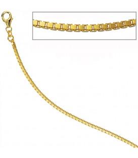 Venezianerkette 585 Gelbgold diamantiert - 4053258285794 Produktbild