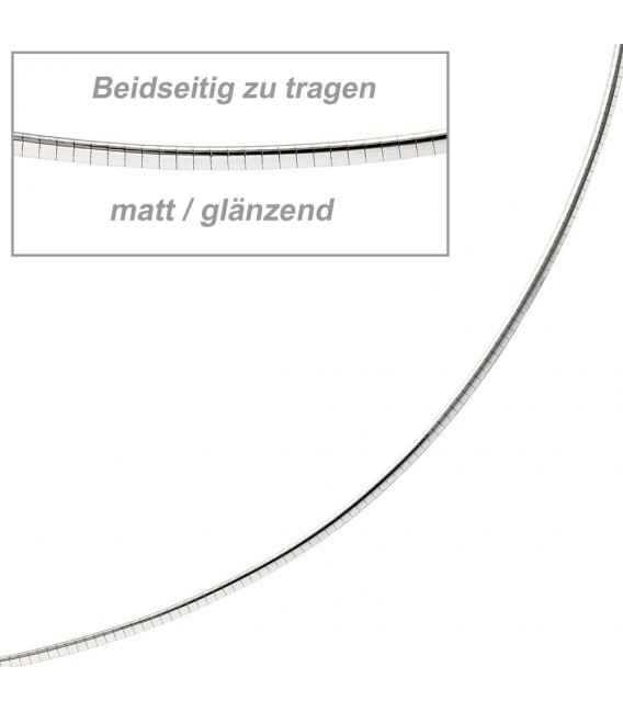 Halsreif 585 Weißgold matt - 4053258065211 Zoom