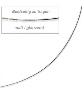 Halsreif 585 Weißgold matt - 4053258065211 Produktbild