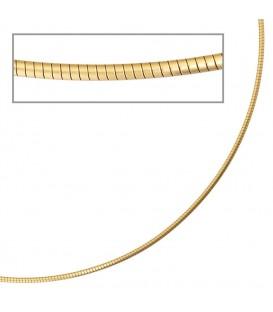 Halsreif 585 Gelbgold matt - 4053258065990