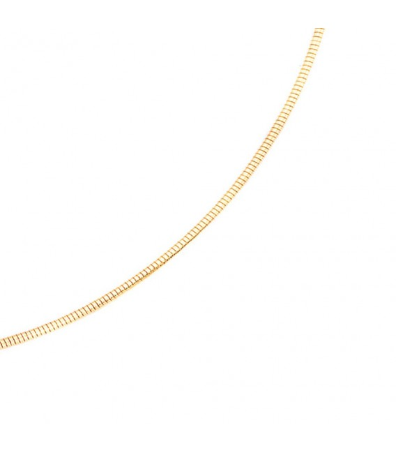 Halsreif flexibel 585 Gelbgold 1,4 mm 45 cm Gold Kette Halskette Goldhalsreif.