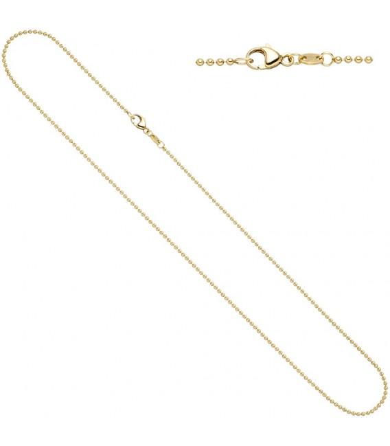 Kugelkette 585 Gelbgold 15 - 4053258210413