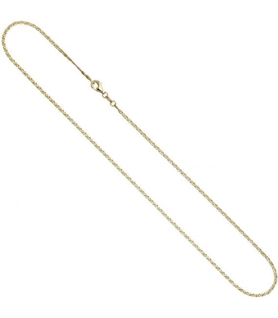 S-Panzerkette 333 Gelbgold diamantiert 1,6 mm 38 cm Gold Halskette Goldkette. Zoom