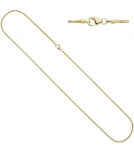Schlangenkette 333 Gelbgold 14 - 4053258065488 Produktbild