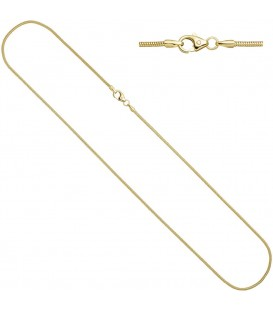 Schlangenkette 333 Gelbgold 14 - 4053258065495 Produktbild