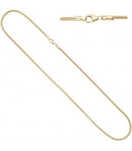 Schlangenkette aus 333 Gelbgold - 4053258314401
