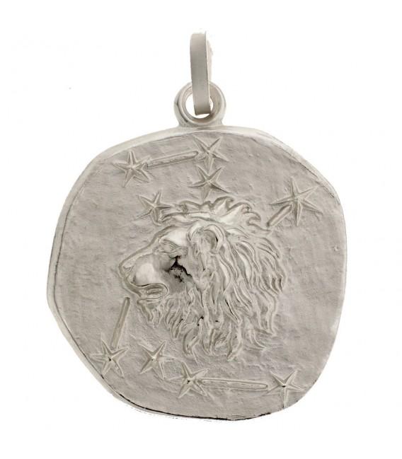 Anhänger Sternzeichen Löwe 925 Sterling Silber matt Sternzeichenanhänger.