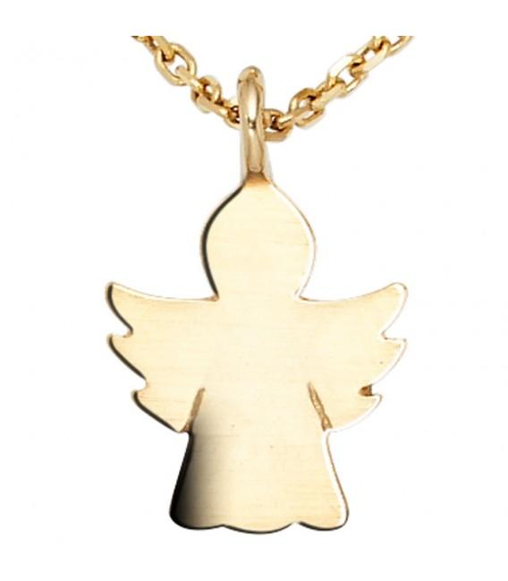 Kinder Anhänger Engel Schutzengel Engel 585 Gold Gelbgold Kinderanhänger.