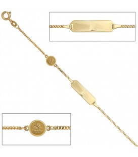 Schildband Engel 585 Gold - 4053258257388