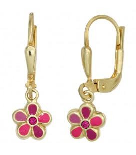 Kinder Boutons Blume rot - 4053258257814