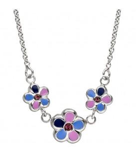 Kinder Collier Halskette Blumen - 4053258308486
