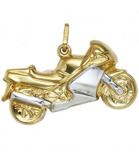 Anhänger Motorrad 333 Gold - 4053258086162