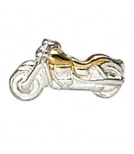 Einzel-Ohrstecker Motorrad 925 Sterling - 4053258212356