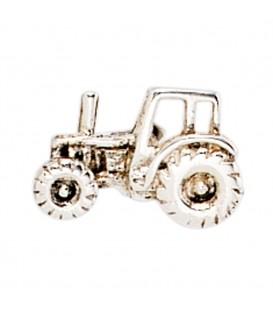 Einzel-Ohrstecker Traktor 925 Sterling - 4053258212646