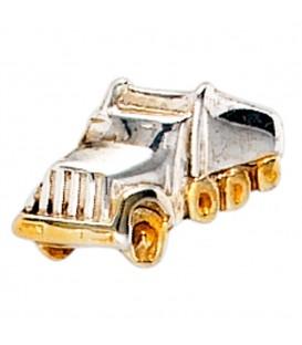 Einzel-Ohrstecker LKW Lastwagen 925 - 4053258212639