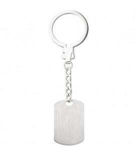 Schlüsselanhänger mit Gravurplatte 925 - 4053258324325