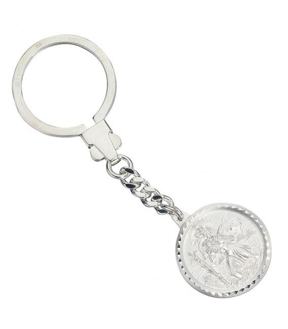 Schlüsselanhänger Schutzpatron Christopherus 925 - 4053258301517