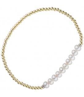 Armband 925 Silber gold - 4053258335697