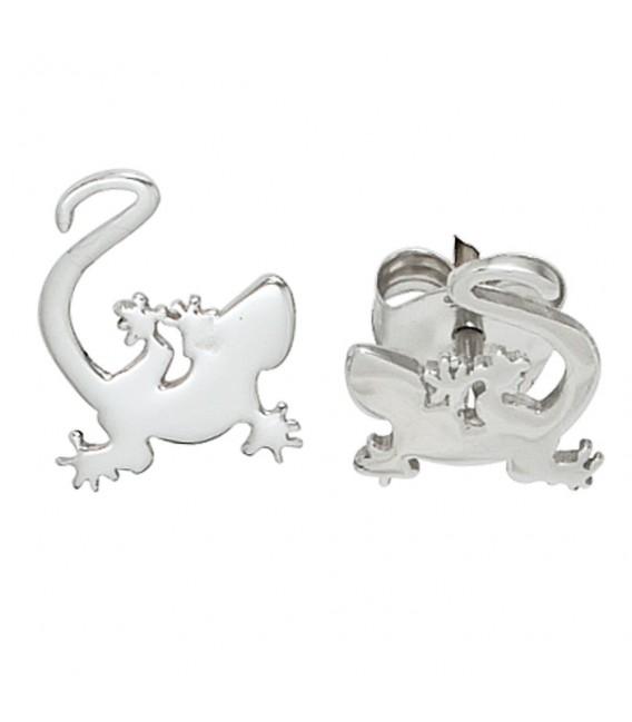 Kinder Ohrstecker Gecko 925 - 4053258103029