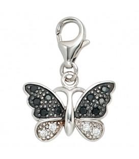 Einhänger Charm Schmetterling 925 - 4053258217573