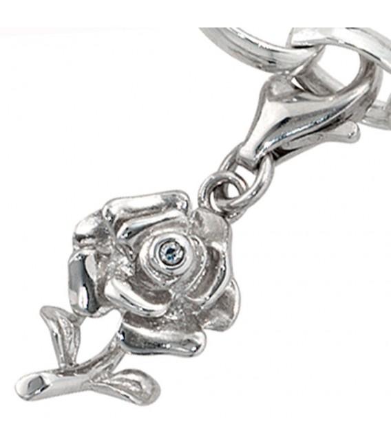Einhänger Charm Rose 925 - 4053258094969