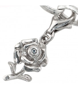 Einhänger Charm Rose 925 - 4053258094969 Produktbild