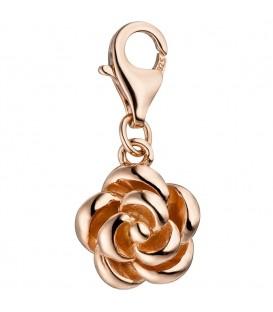 Einhänger Charm Rose 925 - 4053258308813