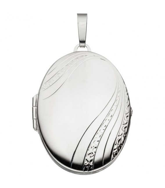 Medaillon oval 925 Sterling - 4053258093269