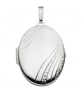 Medaillon oval 925 Sterling - 4053258093269 Produktbild