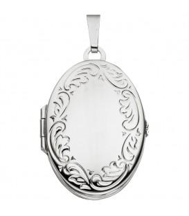 Medaillon oval 925 Sterling - 4053258261644