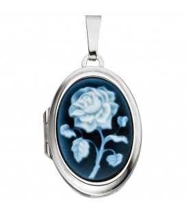 Medaillon oval 925 Sterling - 4053258295489