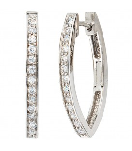 Creolen oval 925 Sterling - 4053258097496
