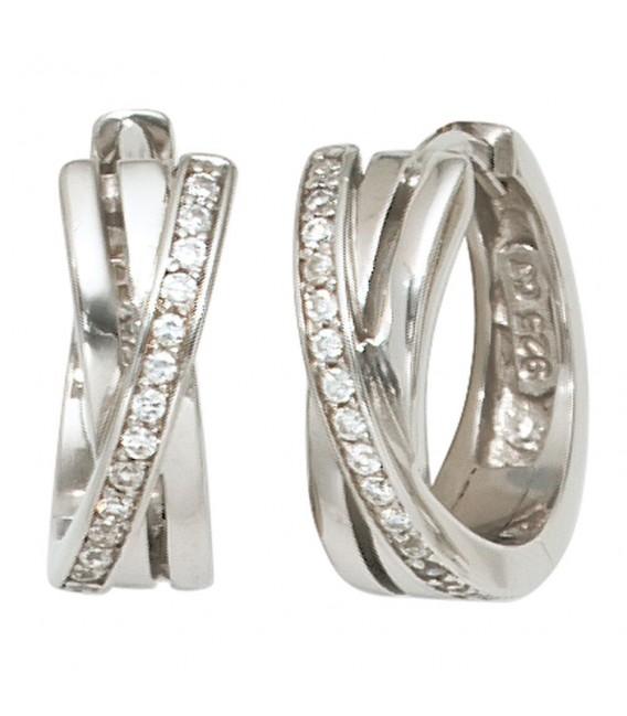 Creolen 925 Sterling Silber - 4053258101599