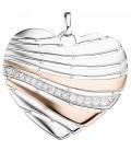 Anhänger Herz 925 Silber - 45415