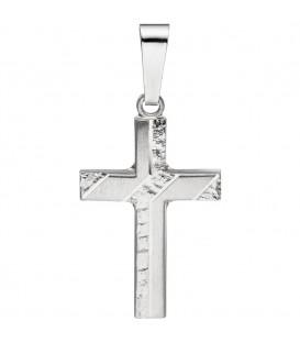 Anhänger Kreuz 925 Silber - 4053258311615