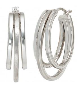 Creolen 925 Sterling Silber - 4053258217283 Produktbild