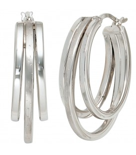 Creolen 925 Sterling Silber - 4053258217283
