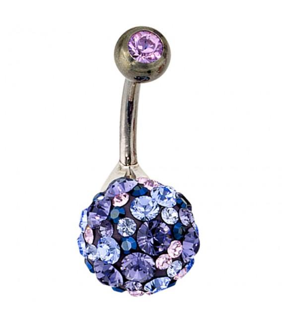 Bauchnabel Piercing 925 Silber - 4053258101001