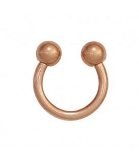 Piercing Edelstahl rotgold vergoldet - 4053258265826