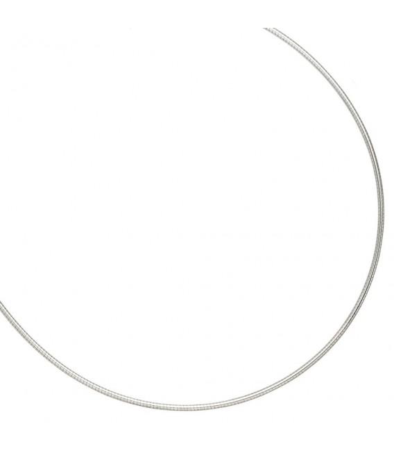Halsreif 925 Sterling Silber 1,5 mm 45 cm Kette Halskette Silberhalsreif.