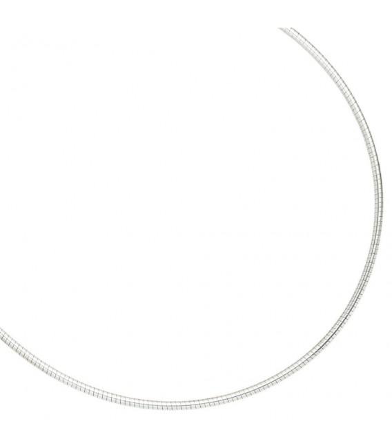 Halsreif 925 Sterling Silber 2,8 mm 45 cm Kette Halskette Silberhalsreif.