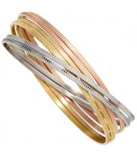 Armreif Armband breit 6-reihig - 4053258269886
